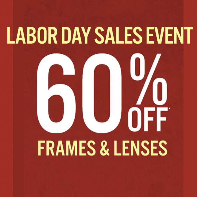 Labor Day Sales Event 60% off