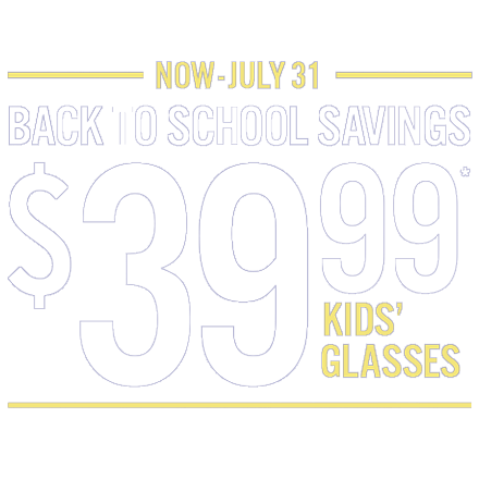 39.99 Kid's Eyeglasses
