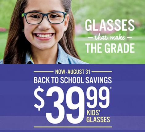 39.99 Kid's Eyeglasses
